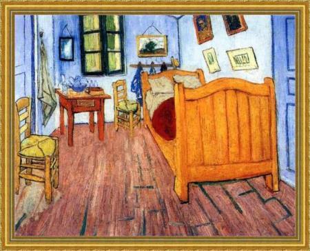 van Gogh-CAMERA DA LETTO(versione del 1888) Area classica I ...